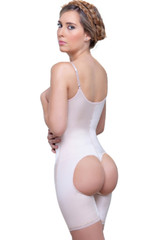 Open Bottom Mid Thigh Shaper body shaper
