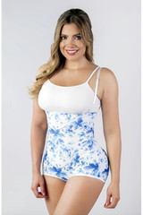 Extra Firm Body Shaper-Floral Colombian Fajas