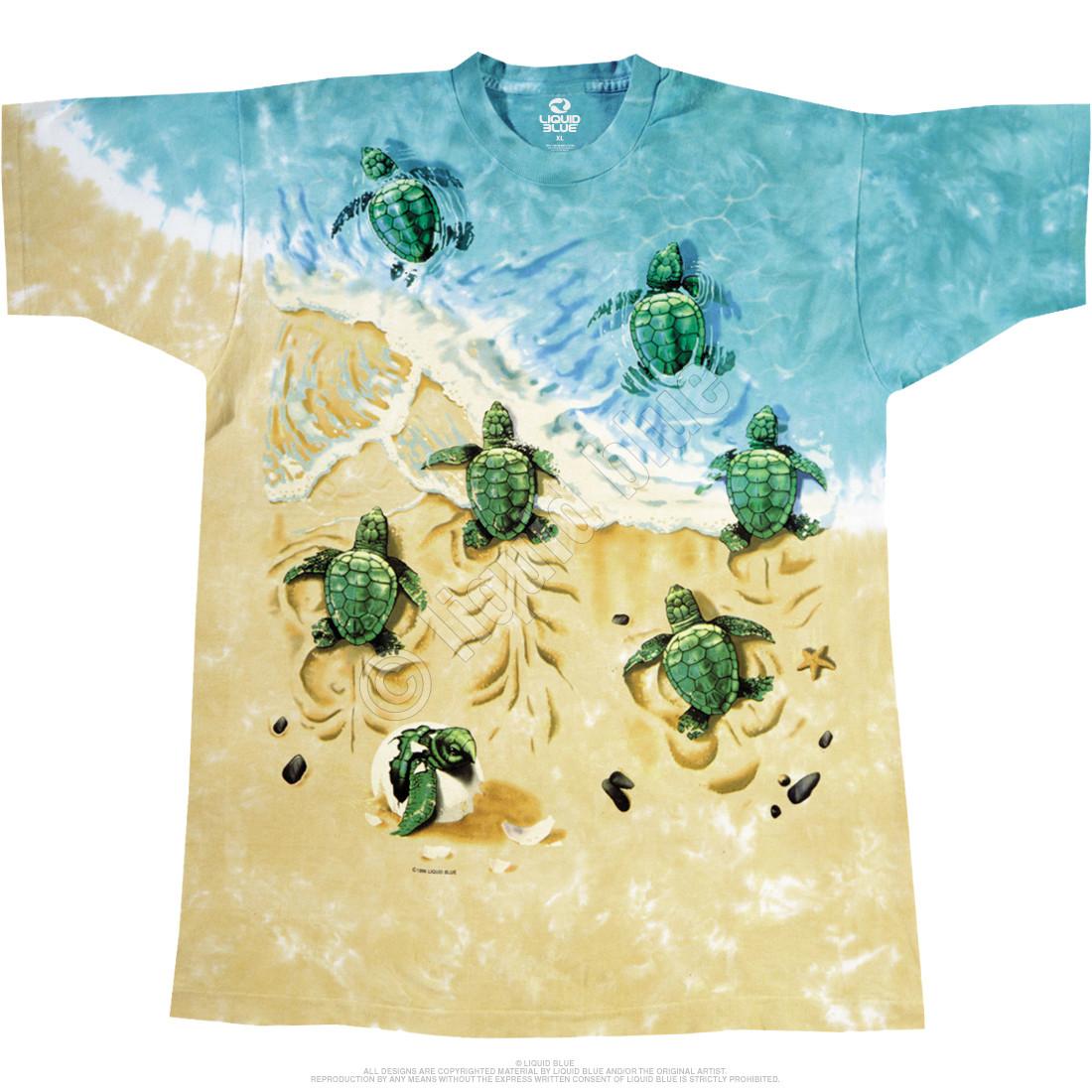 Turtle Beach Tie-Dye T-Shirt