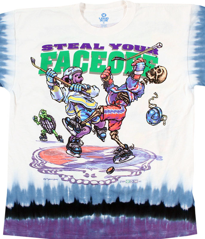 STEAL YOUR FACEOFF TIE-DYE T-SHIRT