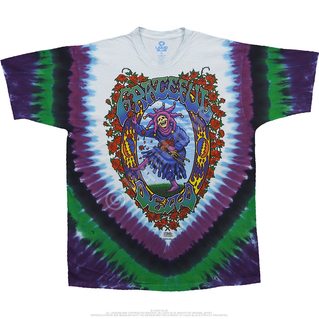 Seasons Of The Dead Tie-Dye T-Shirt