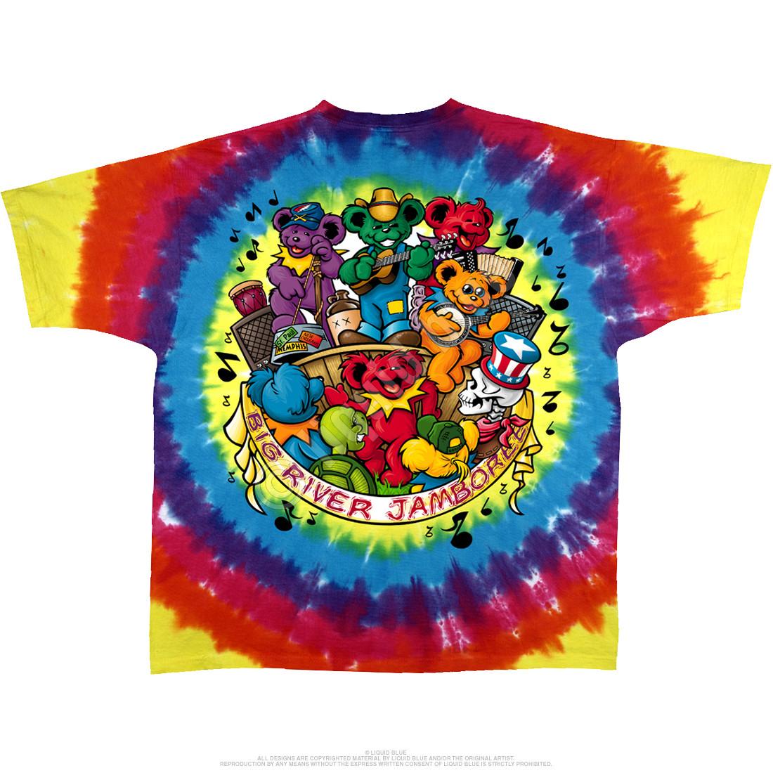 Bear Jamboree Tie-Dye T-Shirt