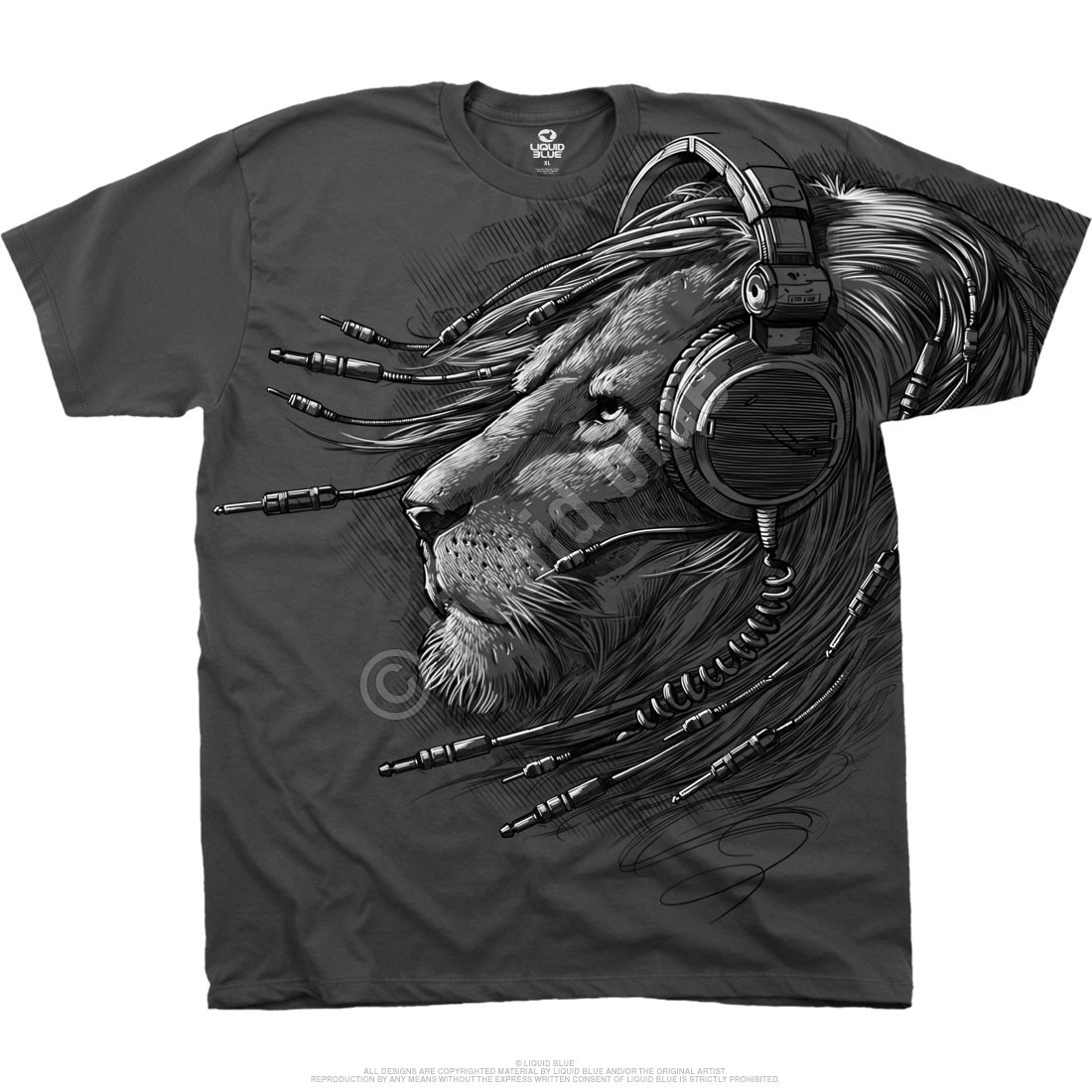 Plugged In Grey Athletic T-Shirt