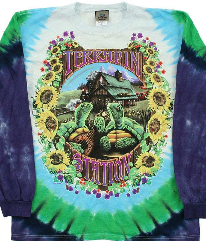 Terrapin Station Tie-Dye Long Sleeve T-Shirt