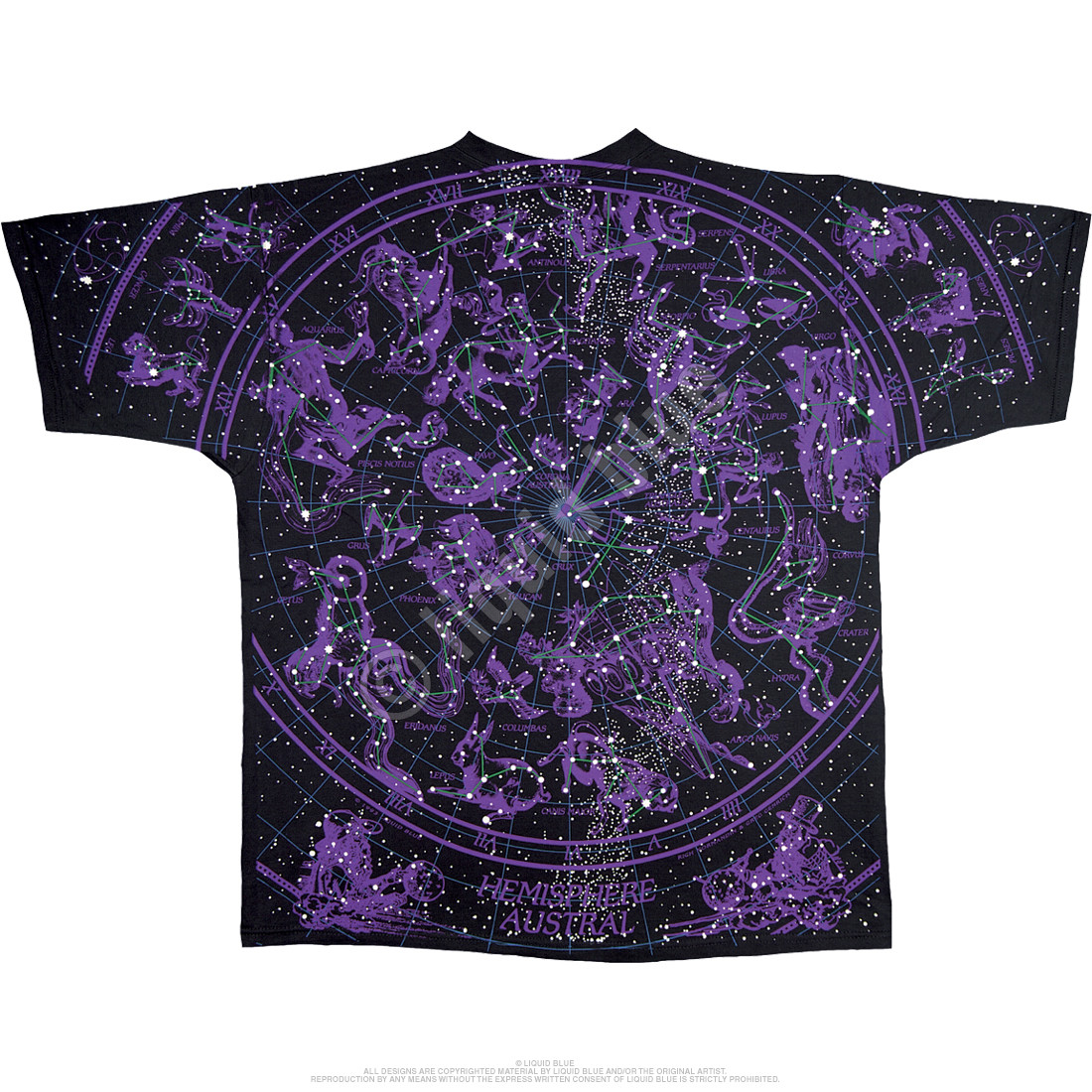 Constellation Black T-Shirt