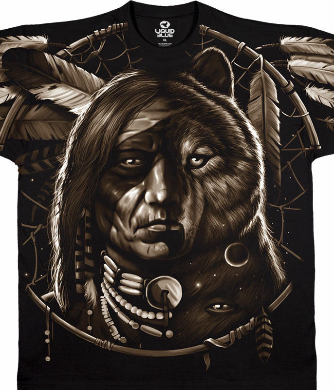 DREAM SPIRIT BLACK T-SHIRT