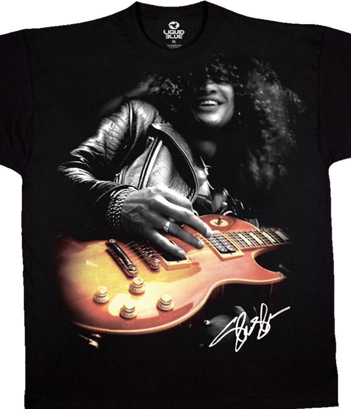 Slash Guitar Black T-Shirt