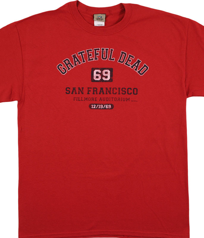 SAN FRANCISCO 69 RED T-SHIRT