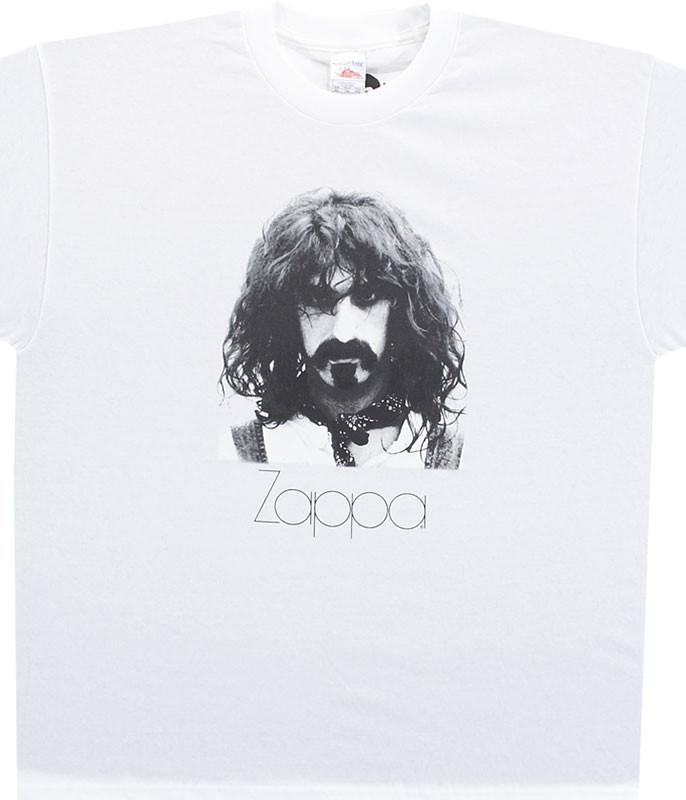 ZAPPA PORTRAIT WHITE T-SHIRT