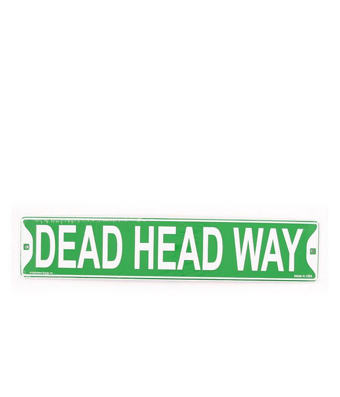 DEAD HEAD WAY LP SIGN