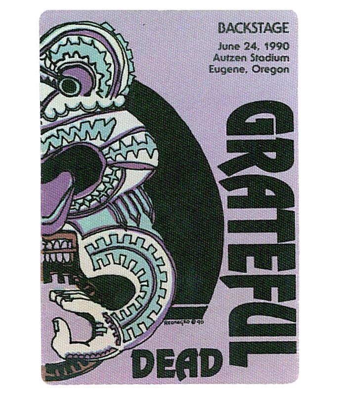GRATEFUL DEAD 1990 06-24 BACKSTAGE PASS