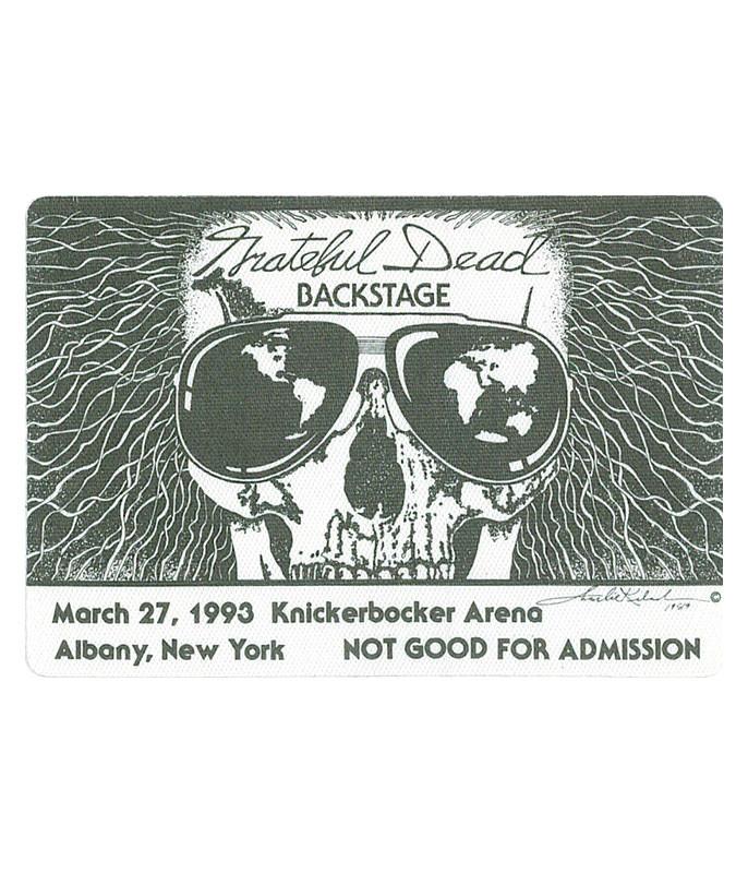 GRATEFUL DEAD 1993 03-27 BACKSTAGE PASS