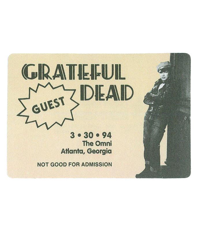 GRATEFUL DEAD 1994 03-30 BACKSTAGE PASS