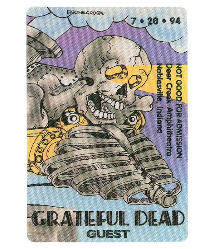 GRATEFUL DEAD 1994 07-20 BACKSTAGE PASS