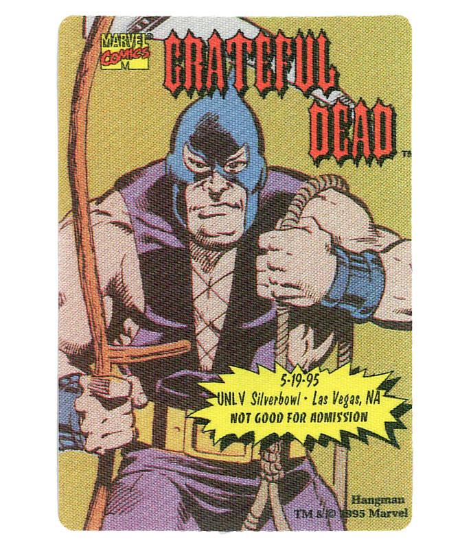 GRATEFUL DEAD 1995 05-19 BACKSTAGE PASS