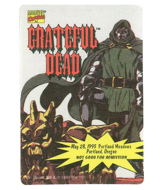 GRATEFUL DEAD 1995 05-28 BACKSTAGE PASS