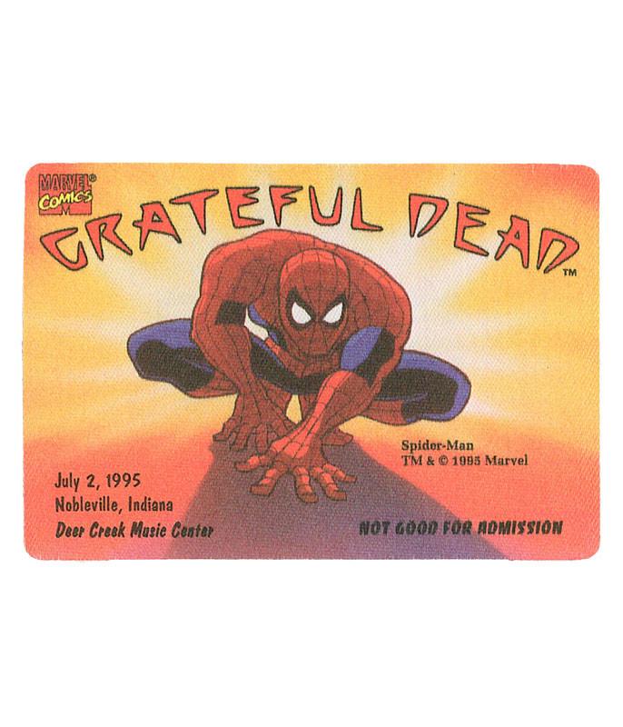 GRATEFUL DEAD 1995 07-02 BACKSTAGE PASS