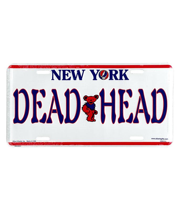 GD NEW YORK LICENSE PLATE