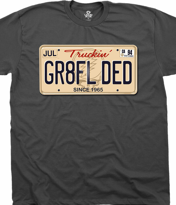 GR8FL DED CHARCOAL T-SHIRT