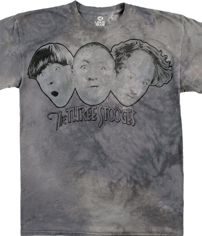 THE THREE STOOGES TIE-DYE T-SHIRT