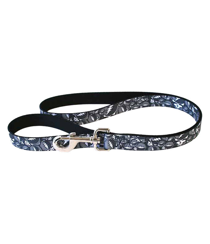 GD SYF BLACK AND GRAY DOG LEASH
