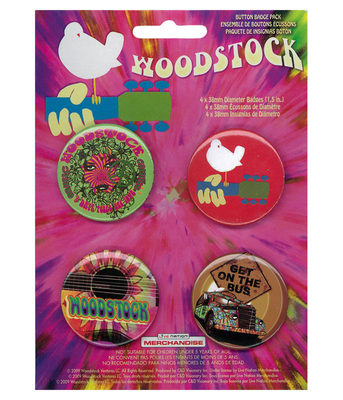WOODSTOCK 4 PIN SET