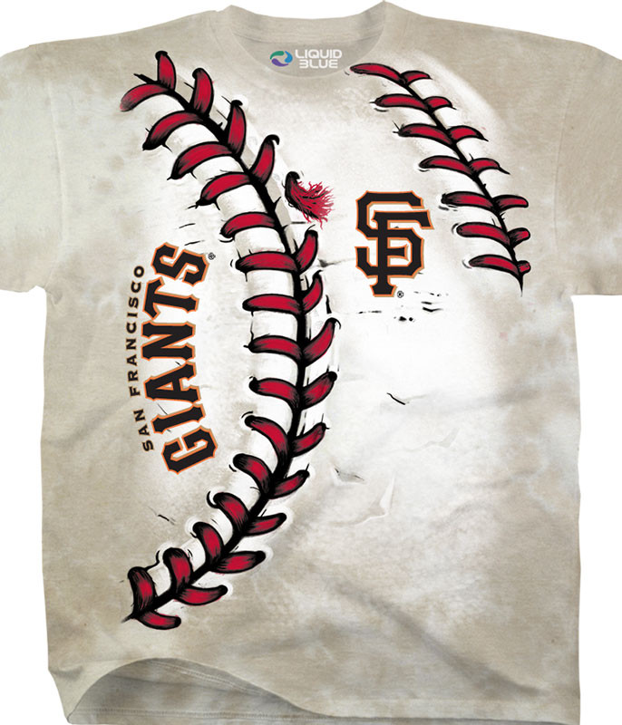 SAN FRANCISCO GIANTS YOUTH HARDBALL TIE-DYE T-SHIRT