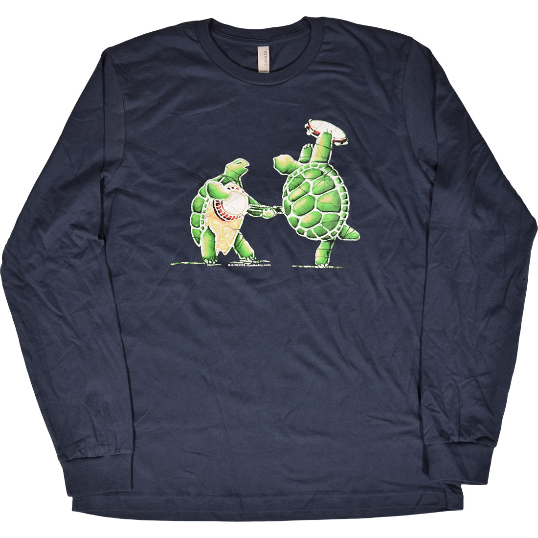 GD Terrapin Station Navy Long Sleeve T-Shirt