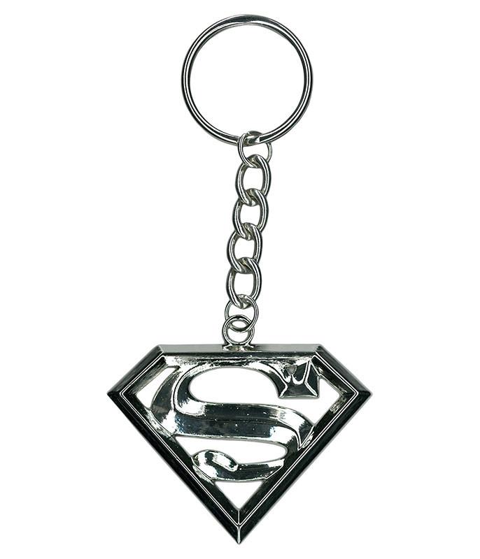 SUPERMAN METAL KEYCHAIN