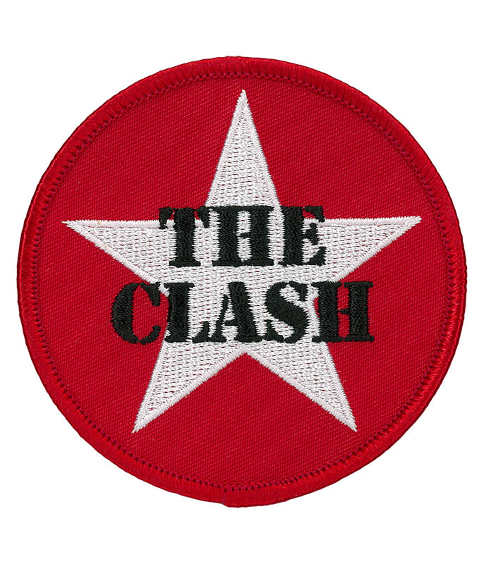 THE CLASH STAR PATCH