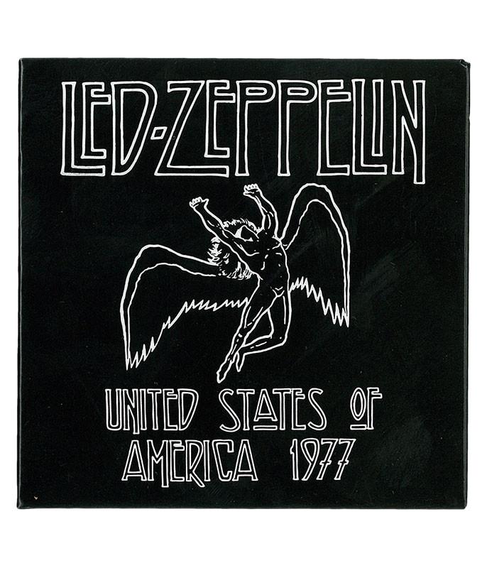 LED ZEP USA 1977 MAGNET