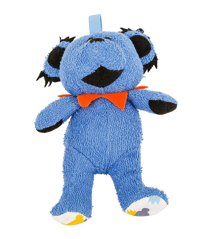 GD BLUE DANCING BEAR BABY RATTLE