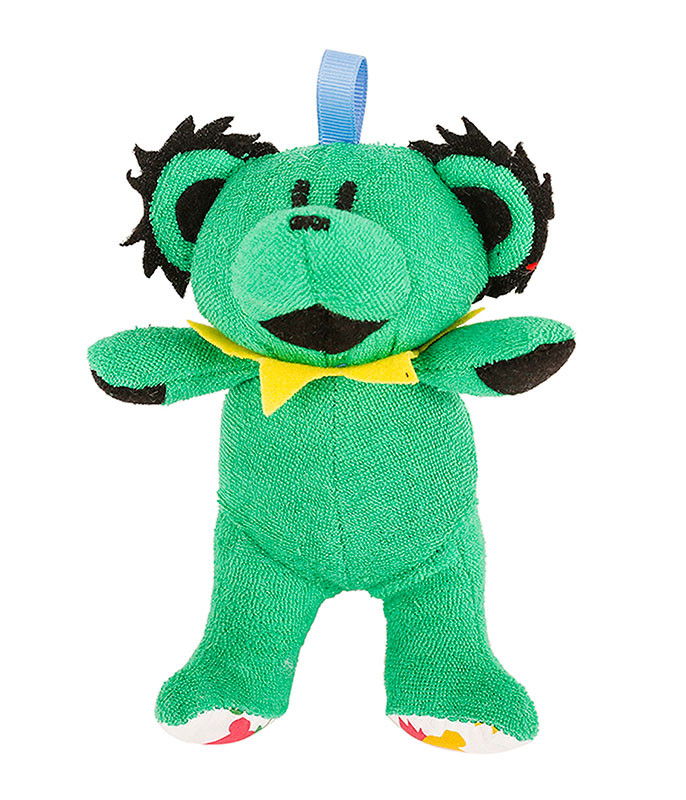 GD GREEN DANCING BEAR BABY RATTLE