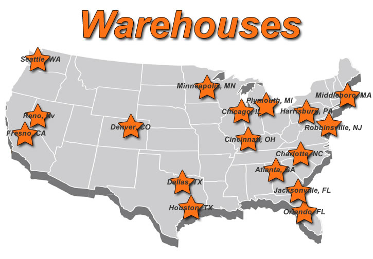 Our Shipping Warehouses