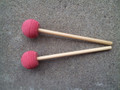 Kakesa Steel Drum Pan Mallets Sticks Wood Econo - 6Bass
