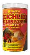CICHLID CARNIVORE MEDIUM PELLET1000 ml	360 g