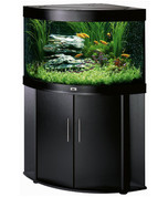Juwel Trigon 190 Corner Aquarium and Cabinet Black