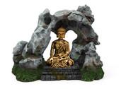 Buddha W/Rock Large