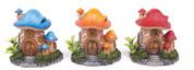 Mushroom House W/P Small Orange