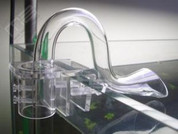 Acrylic Filter Pipe Holder Easy-Aqua