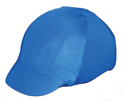 Stand out in a crowd with a colorful helmet cover by Sleazy Sleepwear for Horses™. These bright and fun covers help to protect your helmet from scratches and dirt. They come in all of the great solids, offered by Sleazy Sleepwear for Horses™. Helmet Covers are also offered in a stretch black velvet. These covers fit most safety helmets.