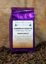 Ethiopian Harrar- Certified Organic - Fair Trade - A very interesting coffee from Africa.  The taste is often described to have sweet blueberry notes, remarkable middle-note complexity, and luscious body.  Intense without being shocking.  An exceptional coffee.