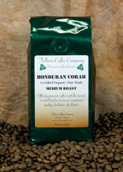 Honduran Corah- Certified Organic - This coffee is said to have a toasted bread, buttery, cozy, sweet taste with a clean finish.