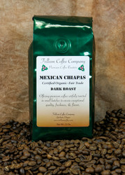 Mexican Chiapas Certified Organic- Fair Trade - An in house favorite!  This coffee from Mexico is so smooth and flavorful that many people drink it without cream or sugar.  It has a delicate aroma, medium body, natural chocolate flavor and bright acidity.