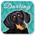 Darling Dachshund Coaster