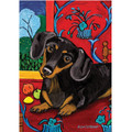 Dachshund House Flag