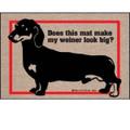 Does This Mat Make My Wiener Look Big Doormat