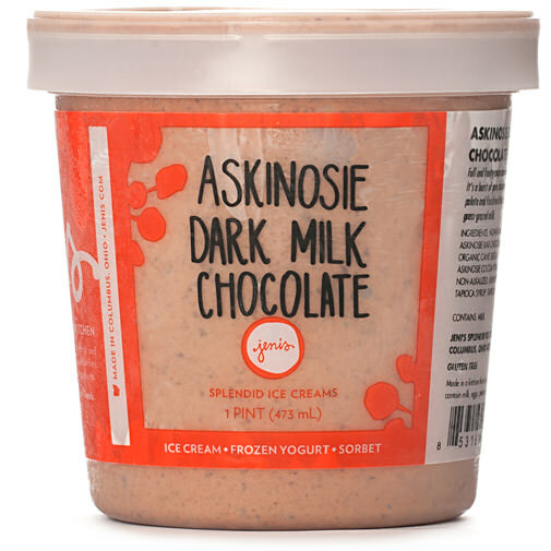 Askinosie Dark Milk Chocolate - Jeni's Splendid Ice Creams