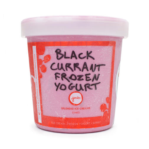 Black Currant Frozen Yogurt - Jeni's Splendid Ice Creams