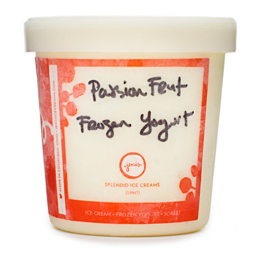 Passion Fruit Yogurt - Jeni's Splendid Ice Creams